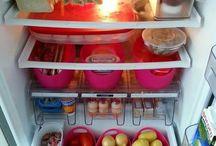 como organidar a geladeira