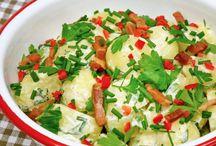 Recepten voor bijgerechten / Groentegerechten, salades, aardappels, rijst, pasta, sauzen
