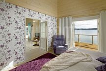 Dormitorios / Dormitorios #casas de #madera Kuusamo Log Houses
