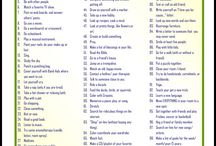 Boredom Busters / Things to do when you're stuck at home with a chronic illness or disability