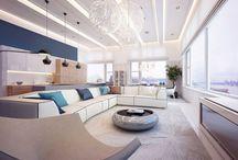 Yaşam Alanları / Oturma odanız için yaratıcı fikirler