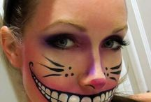 Halloween make up DIY