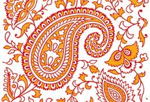 Indian / paisley