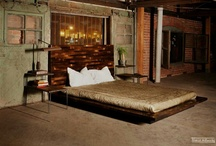 Bedrooms: pallet beds and headboards