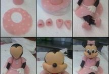 figurine sugar paste