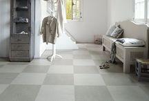 Vloeren   Marmoleum / De vloer is bepalend voor de uitstraling van je interieur en met een slijtvaste Marmoleum vloer bepaal je de uitstraling zelf.