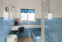 Bathrooms Renovated/new inspired by Mid Century Modern / Pics of sympathetically renovated mid century modern bathrooms that still maintain a MCM feel to them, and not a 21st century feel. Secret Design Studio is a design-focused building consultancy, based in Melbourne, Australia. We are passionate about quality residential design. We collect 20th Century chairs. We champion mid century modern architecture with an irregular blog. Follow us on https://www.facebook.com/SecretDesignStudio or twitter @Secret_Design. www.secretdesignstudio.com / by Secret Design