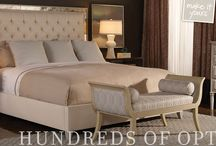 Vanguard Furniture ~ All Around Your Home / From Dining Room to Living Room to Bedroom, count on Vanguard for design and comfort.