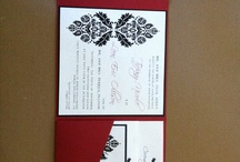 My Passion / These are all invitations, announcements, banner and other pretty paper stuff me and Melissa have created for weddings, birthdays and just because! Our business is called RSVP.