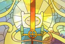 stained glass anime