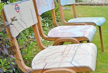 decoupage chairs