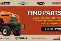 Online Parts Store / Go to equipmentgarage.com to visit any of our brand specific parts stores to rind the replacement parts you need!