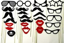 photo booth props / Party ideas