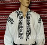 Romanian traditional costume for man, handmade 100%