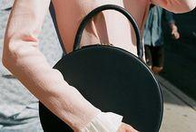 Leather - Circle Bag