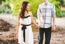 Kansas City Engagement Photography / Inspiration for engagement sessions | Coordinating outfits for engagement sessions #engagementoutfits #engagementphotos #kansascityengagementphotos