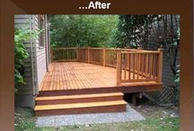 New Porch / by Rozie Schnoopdogg