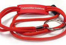 Cord Lanyards / One of our newest styles, cord lanyards are durable and feature a woven design.