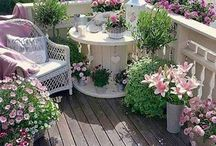 garden,balcony decor