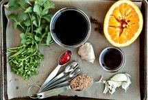 Recipes - Sauces / marinades