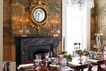 59 Dining Room Table with Dark Chairs