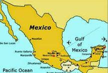 Mexico / Mexico een prachtig vakantieland. Ik hoop dat u ook enthousiast zult worden, na het lezen van mijn verhalen.