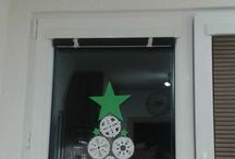 Vanocni vyzdoba oken