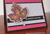 Stampin' Up! ~ Lighthearted Leaves
