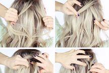 Halboffene Frisuren
