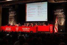 Asamblea General del Athletic 2015 / En la Asamblea General  2015 del  Athletic Club, hemos estado realizando la señal institucional de audio que se ofrece a los medios de televisión y radio.