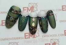 Nails / Green