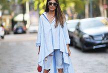 oversized shirt dress design