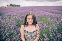 Lavender picking with my sister