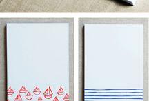 Inspiratie notitieblokken / Inspiratie, inspiration, notitieblokken, notes, creative, creatief