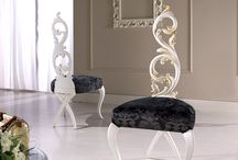 High Life Collection / Our collection of ultra luxury wood chairs Made in Italy.