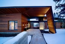 Modern Homes / by Modwalls Tile
