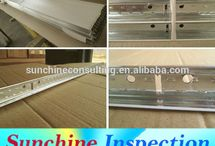 Ceiling Tiles Pre-Shipment Inspection Service