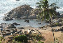 Vagator Beach, Goa  / Vagator Beach to enjoy a walk on its powdery sands. For information about vagator beach visiti here: http://blog.goahotelgracianocottages.com/2013/08/vagator-beach-goa.html