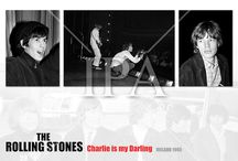 Rolling Stone in Dublin Ireland / Rolling Stones.Charlie is my Darling. Dublin, Ireland in 1965,Christmas gifts of  Prints of Bill Wyman, Please have a look at our web site IrishPhotoAchive.ie