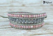 Wrap bracelets / Handcrafted wrap bracelets by Bejewel Romania