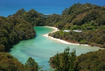 Abel Tasman National Park / Beautiful scenery to skydive over
