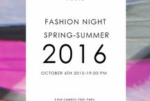 Parakian Fashion Week / Parakian Fashion Night on Octobre the 6th 2015! Spring Summer 2016 Preview !