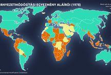 globális térképek