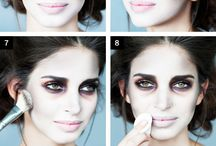 Hallowen make up ideas pretty