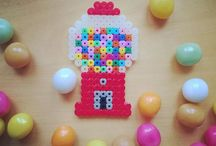 Perler beads / Perler bead ideas
