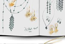Jewellery sketchbooks