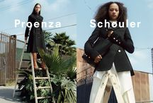 Fall 2016 Ad Campaign / Proenza Schouler Fall 2016 Ad Campaign photographed by Zoe Ghertner and styled by Marie Chaix