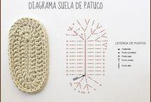 Patucos de crochet para recién nacido