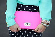 Polka Dot Pencil Skirt / Fashion inspiration