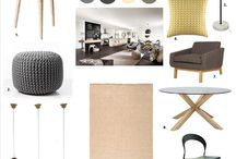 Brando Style Board / Colours, furnishings and finishing touches from The Brando display home.